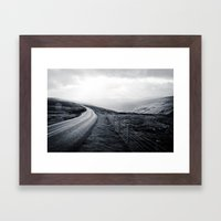 Sunbreak over Dale Framed Art Print