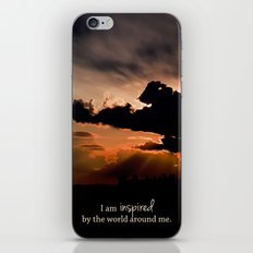inspired by the world II iPhone & iPod Skin