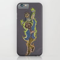 iPhone & iPod Case featuring Duncan and Lil' Hobo by Jason Castillo
