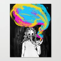 DeathBreath Canvas Print