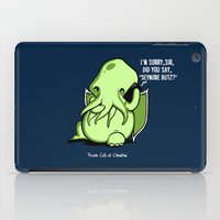 Prank Call of Cthulhu iPad Case
