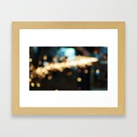Sparks Will Fly Framed Art Print