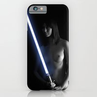 iPhone & iPod Case featuring Lightsaber #1 by SIMpixels