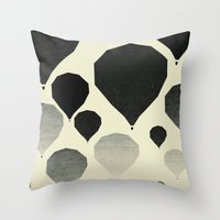 Morning wind balloons Throw Pillow