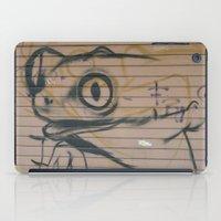 Sicilian Street Frog iPad Case