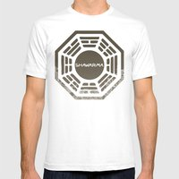 Shawarma Mens Fitted Tee White SMALL