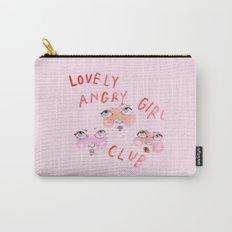 Lovely angry girl club Carry-All Pouch