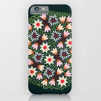 Bed of Flowers iPhone 6 Slim Case