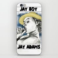 Jay Adams iPhone & iPod Skin