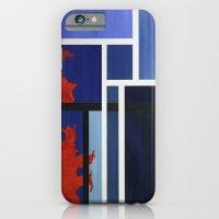 Blue Me Orange iPhone 6 Slim Case