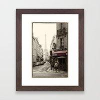 Recruitment Cafe  Framed Art Print