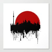 Cityline Canvas Print