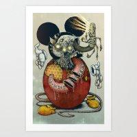Acid Slouse Art Print