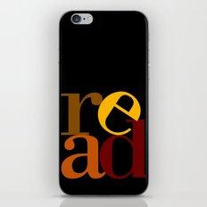 read love iPhone & iPod Skin