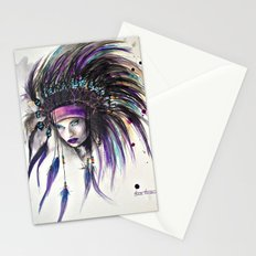 Violet Stationery Cards