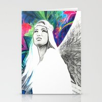 Fly Girl Stationery Cards