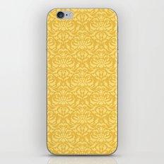 Cloud Factory Damask - Polished Brass iPhone & iPod Skin
