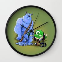 Hike And Chulley Wall Clock