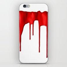 Red Splatter iPhone & iPod Skin