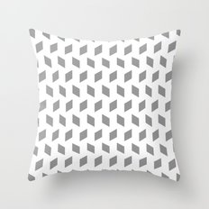 rhombus bomb in alloy Throw Pillow