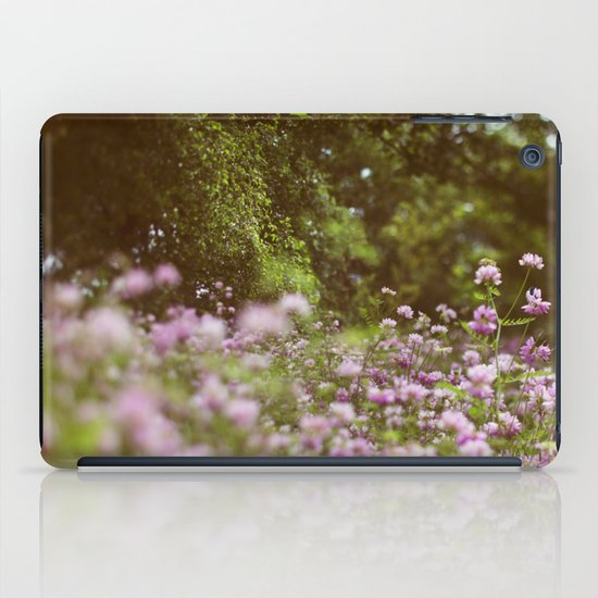 Among the Wildflowers iPad Case