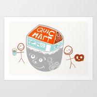 I Are Convenience Art Print