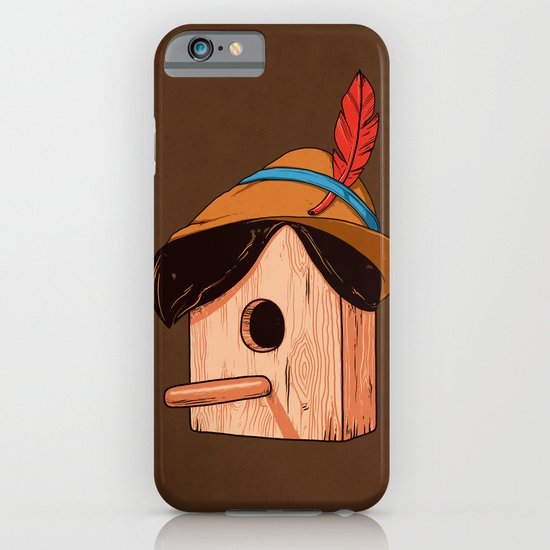 Woodpecker´s house iPhone & iPod Case