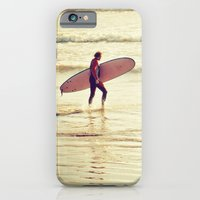 Golden Surf iPhone 6 Slim Case