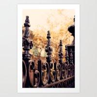 Autumn In New Orleans Art Print