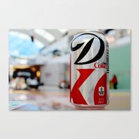Diet Coke Canvas Print