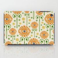 Retro Sunflower Pattern - Susan Weller iPad Case
