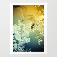 Connections. Art Print