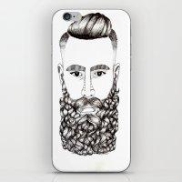 what a beautiful beard iPhone & iPod Skin