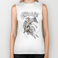Protect Our Wildlife  Biker Tank