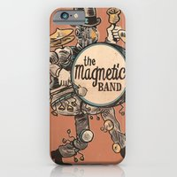 iPhone & iPod Case featuring Magnetic Drumer by andres lozano