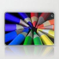 Multi Color Pencils Laptop & iPad Skin