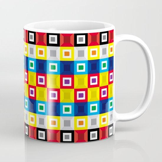 Squares Pattern Mug