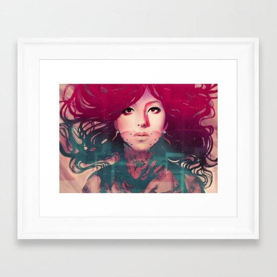 Cassie Framed Art Print