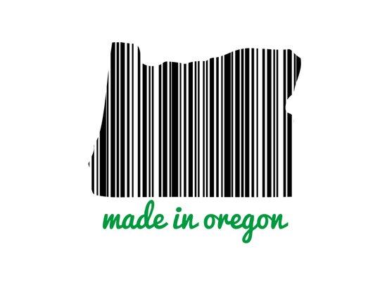 Made in Oregon Art Print