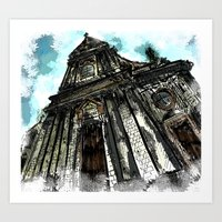Saint George Church In L… Art Print