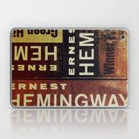 3x Hemingway Laptop & iPad Skin