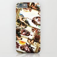iPhone & iPod Case featuring the creation. of a master piece. by salta