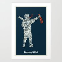 Colossus Of Clout Art Print