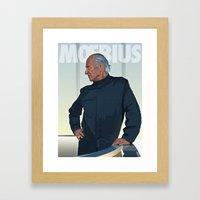 Moebius - Portrait Framed Art Print