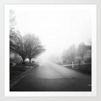 Foggy Morning Art Print
