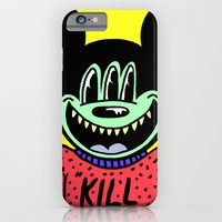 "iPhone & iPod Case featuring ""KILL ME"".  (Mickeyes). by Dave Bell"