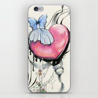Butterfly Heart iPhone & iPod Skin