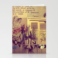 French Graffiti, Paris-2 Stationery Cards