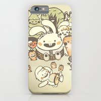 Bunnies And Carrots In T… iPhone 6 Slim Case