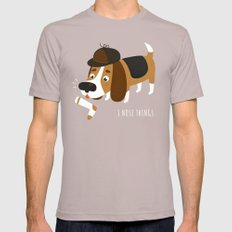 I Nose Things Mens Fitted Tee Cinder SMALL